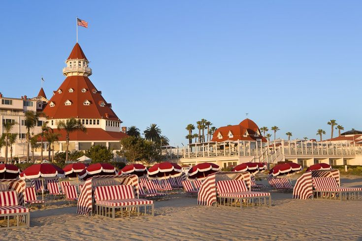 Here is what you need to know about spending the day at Del Beach in front of Hotel Del Coronado