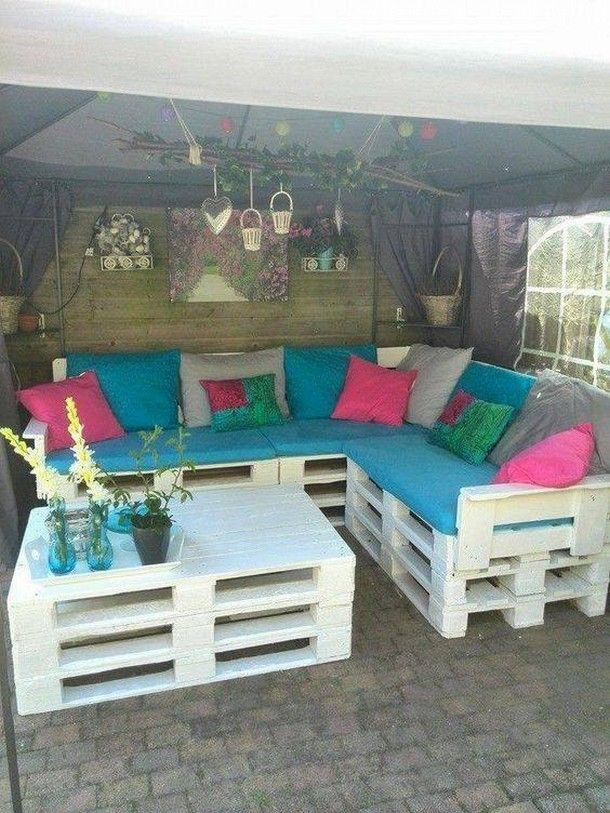 diy outdoor pallet sectional. cheap furniture for your home with pallets diy outdoor pallet sectional