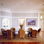 Sisal Rugs Direct with Beach Style Dining Room and Glass Dining Table Built Ins Branches White Trim Box Moulding