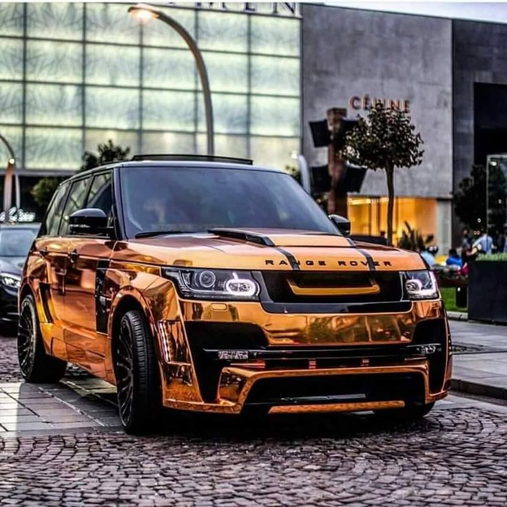 Orange Chrome~Range Rover Sport | Exotic Whips | Range ...