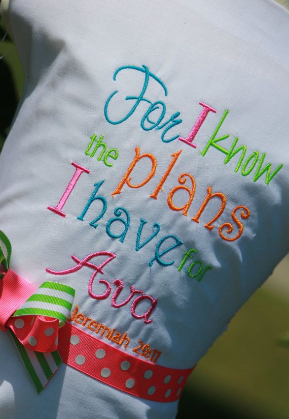Personalized Christian Saying onesie size by SewPolkaDotsBoutique, $17.00