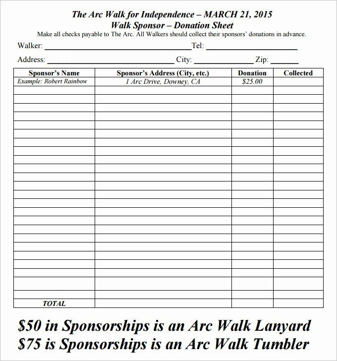 Printable Donation Form Template In 2020 Donation Request Form