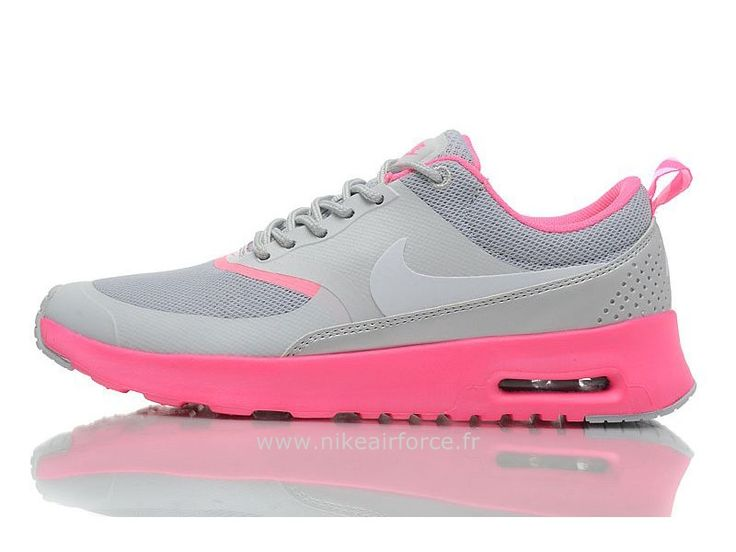Nike Air Max Thea Pas Cher Femme Fusion Rose/Volt Air Max Thea Femme  Blanche | Pinterest | Air max and NBA