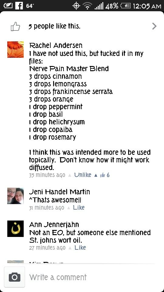 Neuropathy Master Blend For Nerve Pain Needs Diluted Or