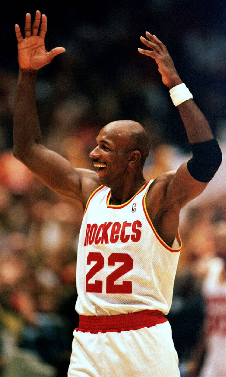 Clyde Drexler Houston Rockets Basketball NBA Pinterest