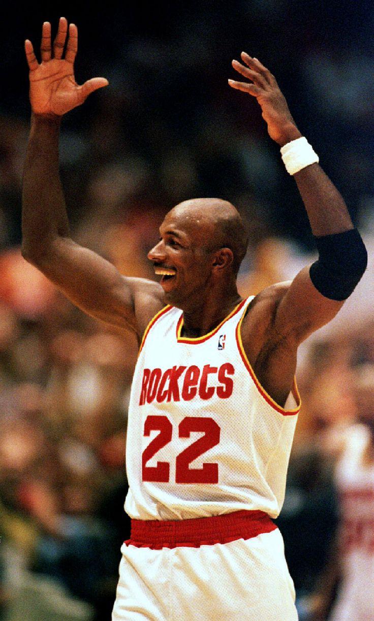 Ho houston rockets nba championship - Clyde Drexler Houston Rockets