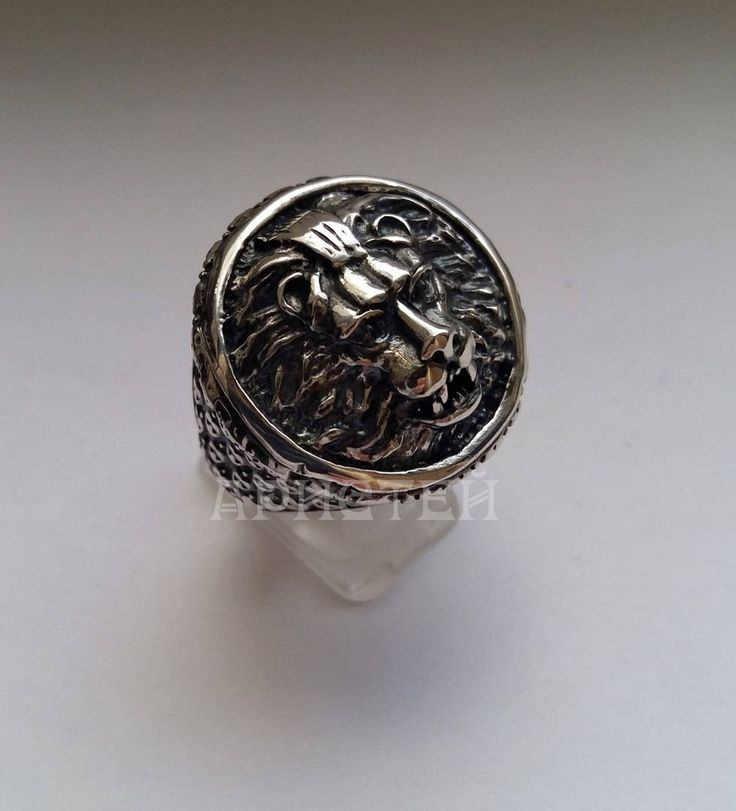 """Ring """"Lion"""" by ARISTEY on Etsy"""