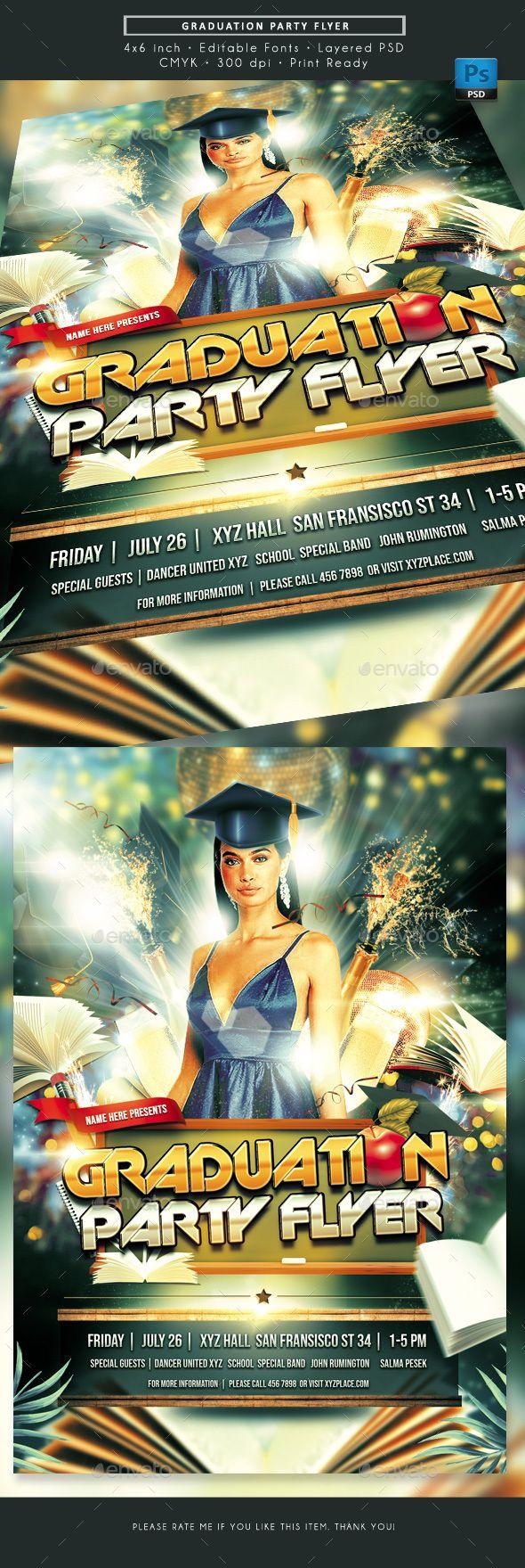 Graduation Party Ceremony Flyer Graduation Party Flyer Graduation Party Graduation Party Invitations