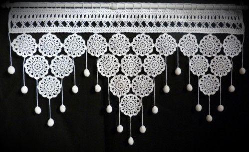 Jolis rideaux au crochet Modèle Phildar n° 248                                                                                                                                                                                 Plus