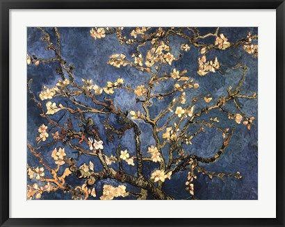 Blossoming+Almond+Tree,+Saint-Remy,+c.1890+at+FramedArt.com