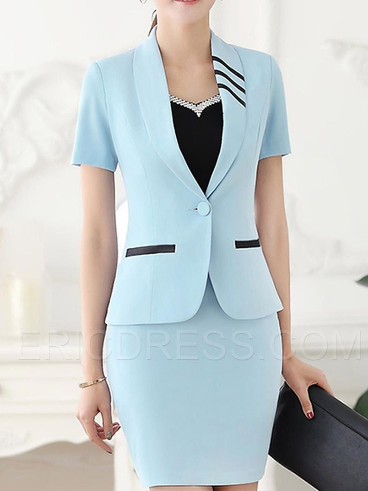 Ericdress Slim Two-Piece Formal Suit Formal Suits