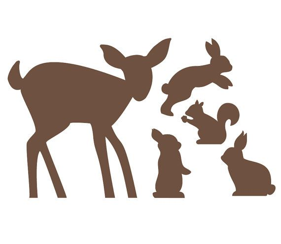 24 Best Silhouettes Rabbit Silhouettes Images On Pinterest