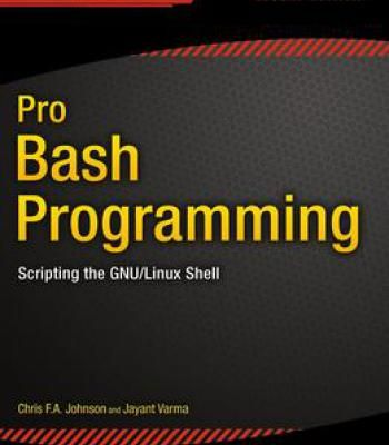 Pro Bash Programming: Scripting The Gnu/Linux Shell PDF