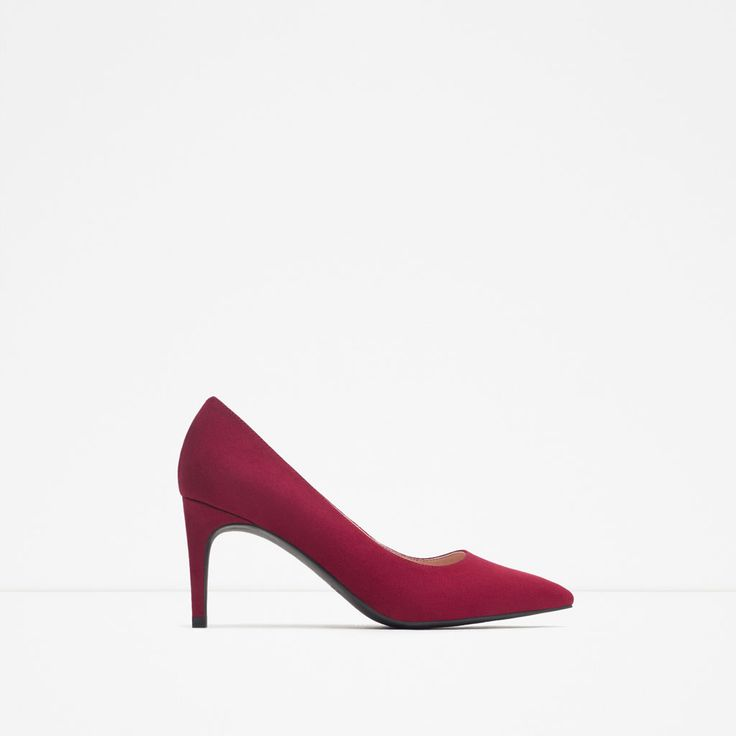 ZARA - TRF - HIGH HEEL COURT SHOES