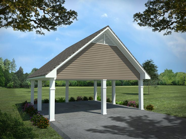 Two car carport addition carport plans detached 2 car for Detached room addition