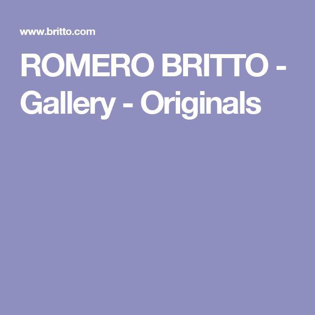 ROMERO BRITTO - Gallery - Originals
