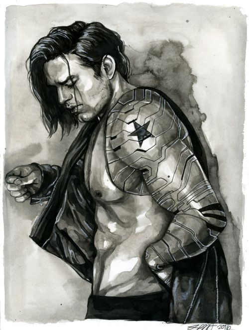 Team Bucky Barnes! • dorkbait: Bucky for @sulamoon. Commission info...                                                                                                                                                                                 More