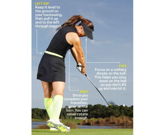 Fix your backswing  In order to start the downswing step