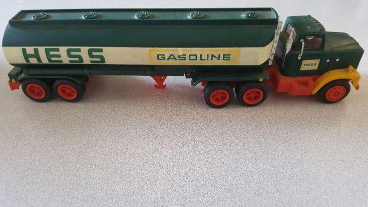 Vintage Hess Gasoline & Fuel Oil Tanker Truck