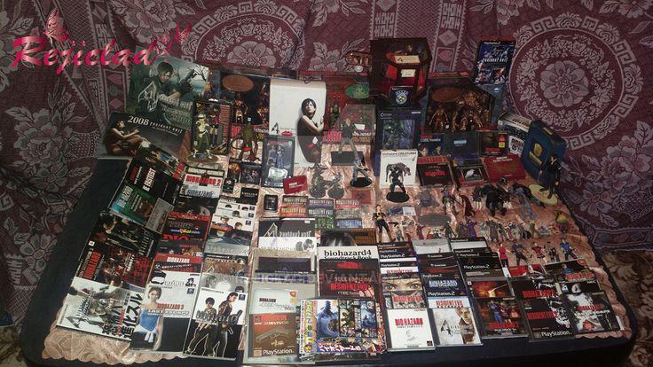 My Resident Evil Biohazard Collection by Rejiclad on DeviantArt