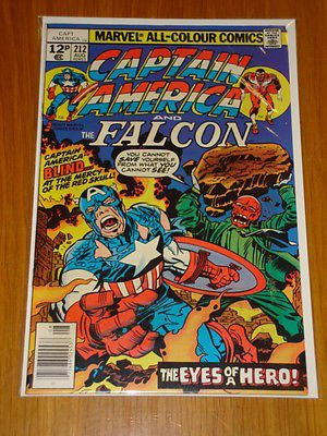 #Captain america #212 marvel #comic near mint kirby #arnim zola story august 1977,  View more on the LINK: 	http://www.zeppy.io/product/gb/2/131622038943/