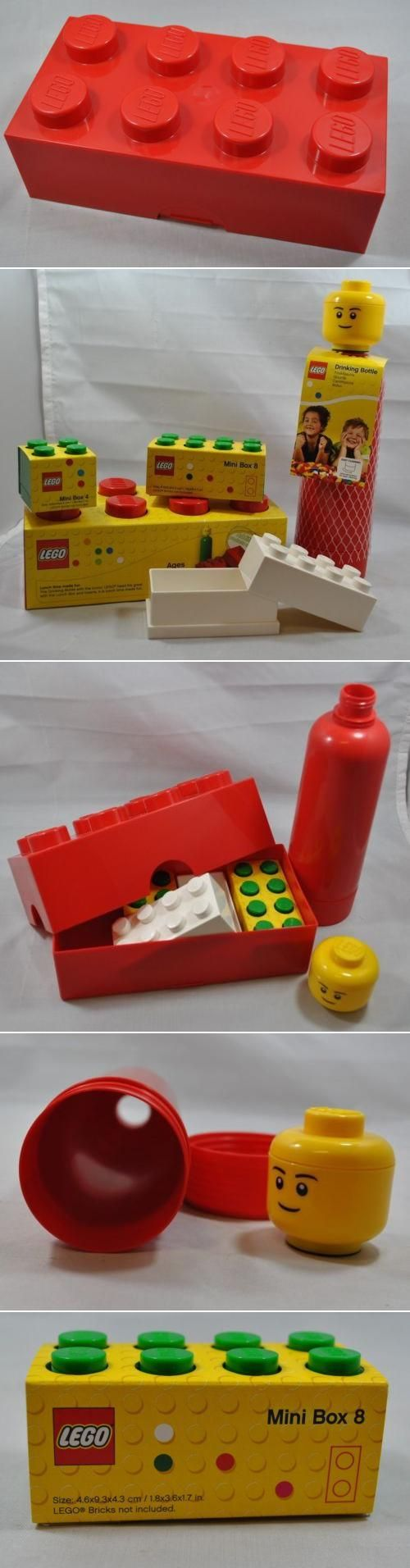 I would love this for the boys!! Looks like an ordinary, but large, LEGO block? Try a full sized LEGO lunchbox AND drinking bottle!