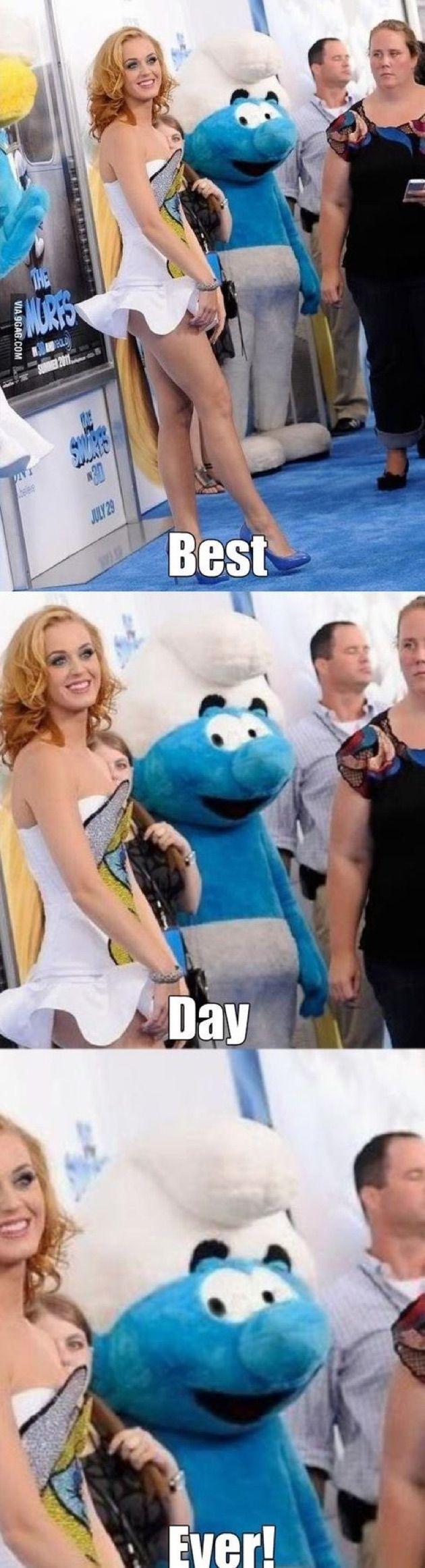 Smurf Katy Perry Meme