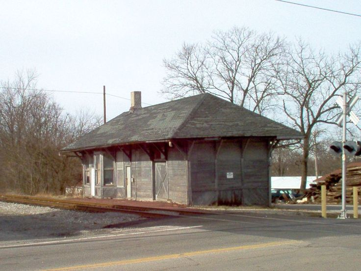 Leesburg Oh Old Train Depot Photo Picture Image