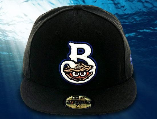 Biloxi Shuckers Game 59Fifty Fitted Cap by NEW ERA x MiLB x BRANDIOSE