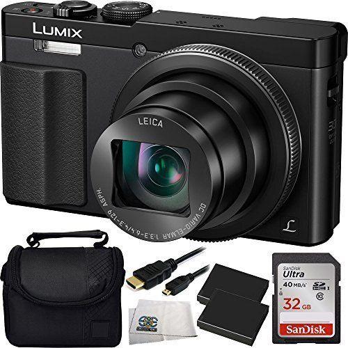 Panasonic DMCZS50K LUMIX 30X Travel Zoom Camera With Eye