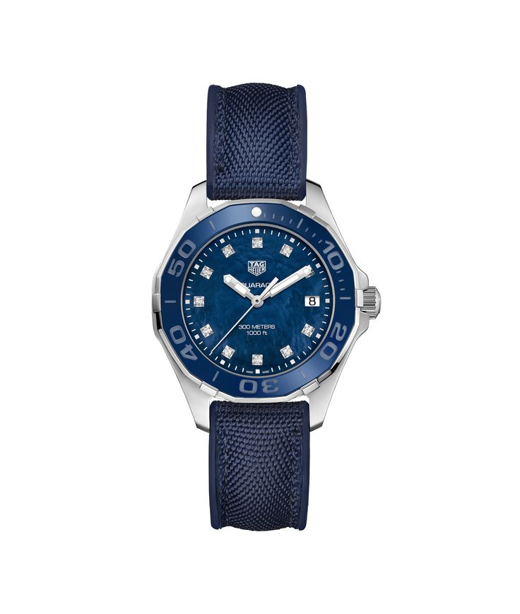 Tag Heuer Aquaracer lady in blue