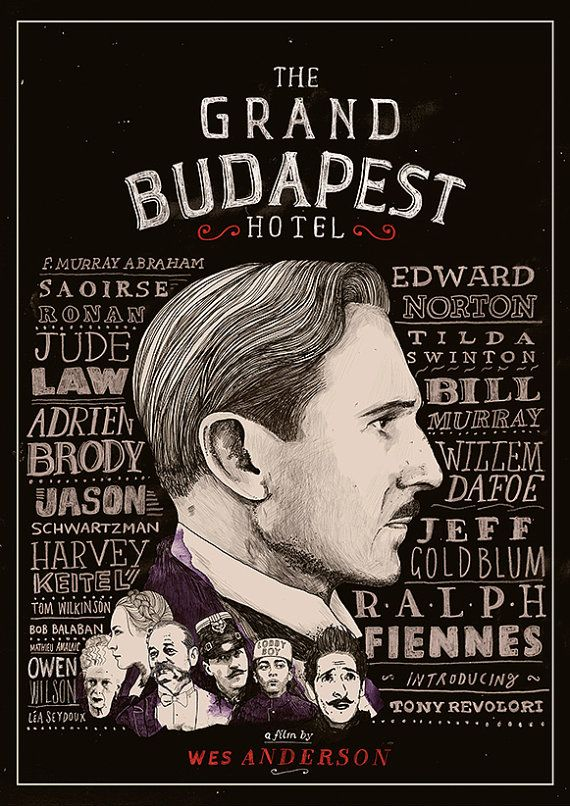 The Grand Budapest Hotel Film Poster