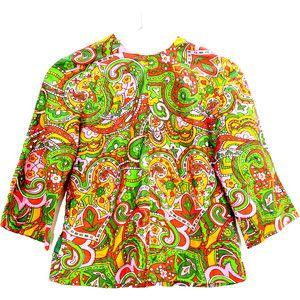 70s blouses tops, Womens 70s disco clothing, Orange and green 70s clothes, Cute 70s disco clothes, Clothes from the 70s, 1970 disco fashion