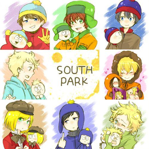 south park fan art - Pesquisa Google