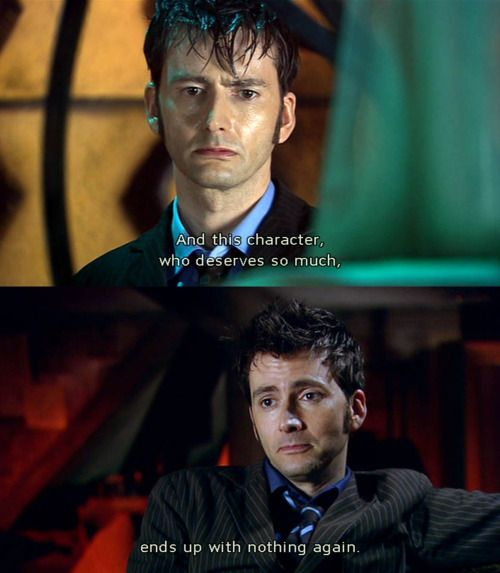 When I started watching Doctor Who, I knew it would be fun and exciting and dramatic and thrilling. But I never, never in a million years, guessed that it would be so absolutely heartbreaking.