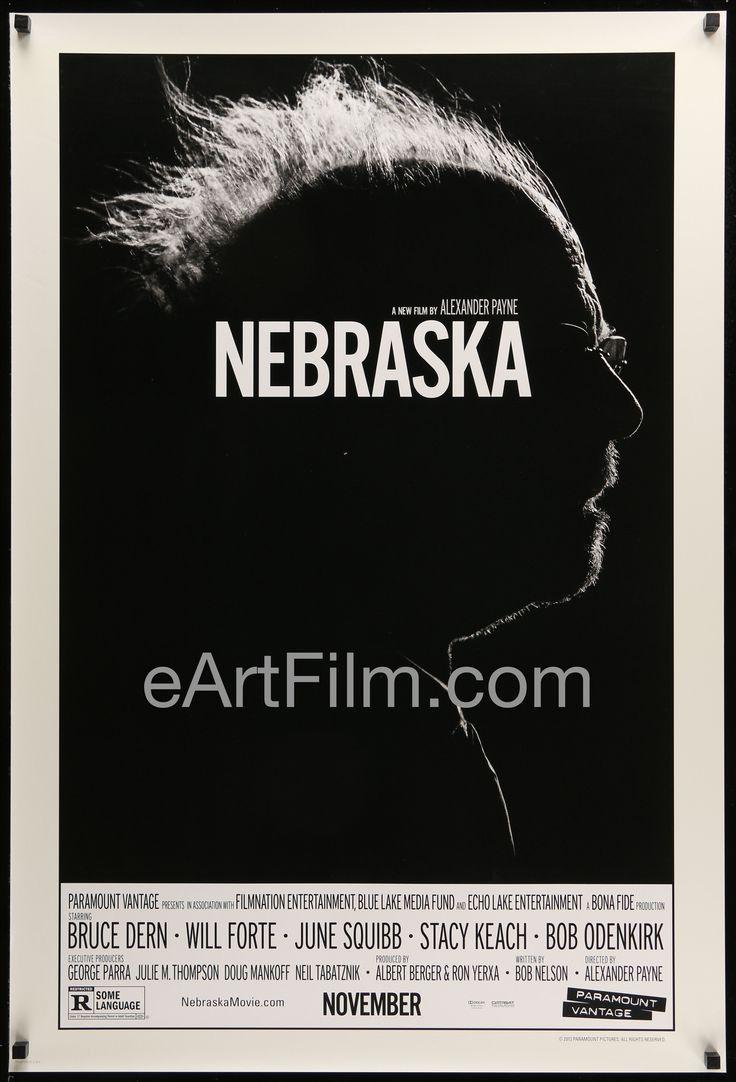 Nebraska-Bruce Dern-June Squibb-Stacy Keach-27x40-Advance-Double Sided