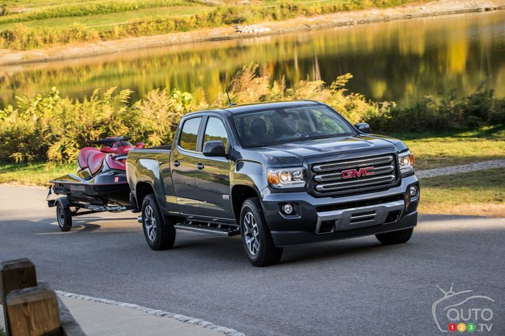 The #GMC #Canyon Named Best Midsize Truck for 2016 | Car News | Auto123
