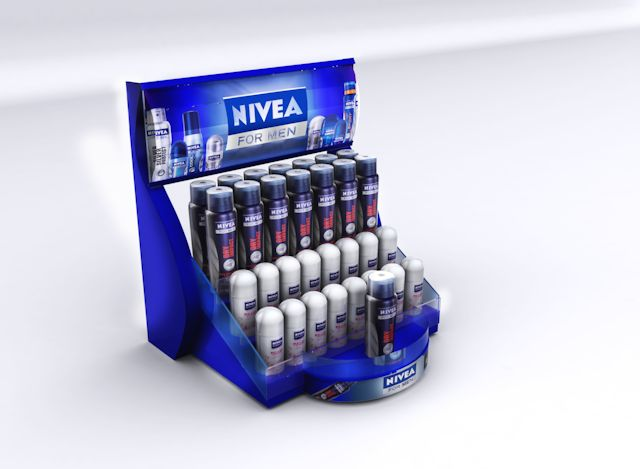 Nivea - Dy Balcão desodorantes | MyFolio