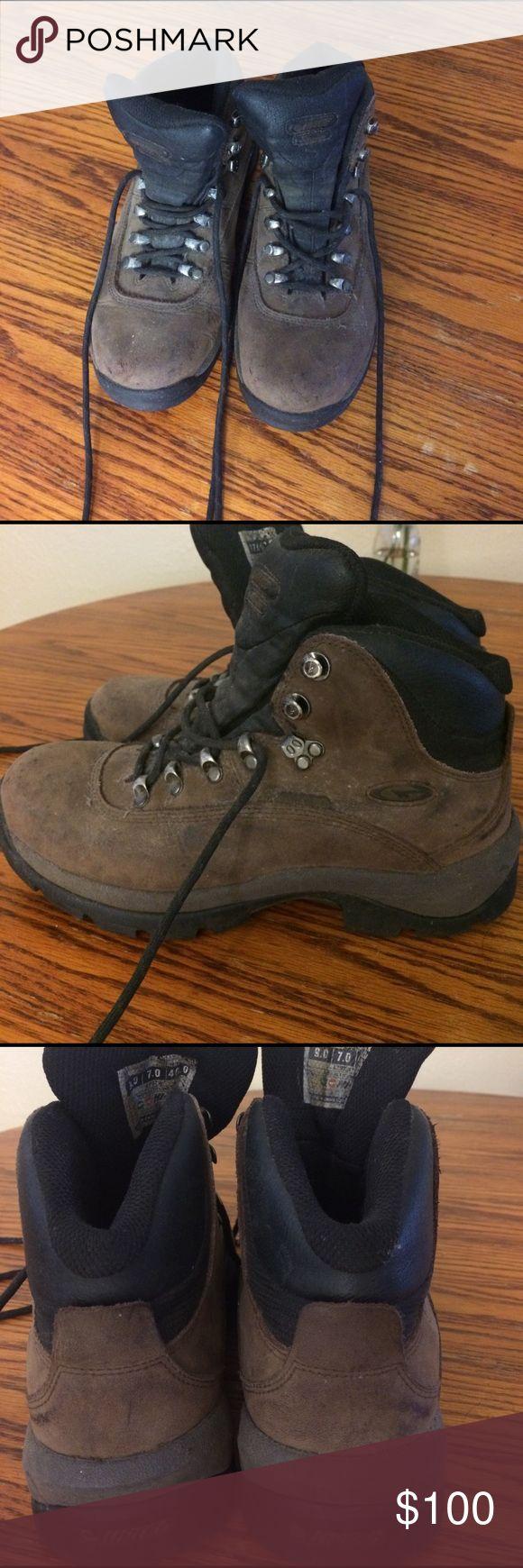 Hi Tec Waterproof Hiking Boots Hi Tec Waterproof Hiking Boots. Size 7. Worn once Hi-Tec Shoes Athletic Shoes
