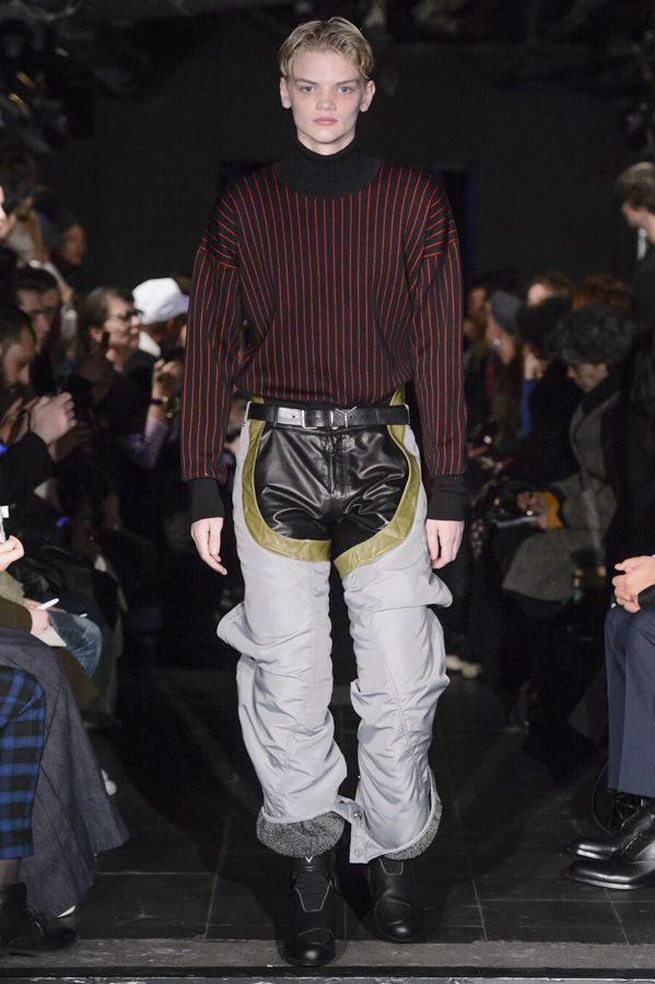Y/PROJECT AW16 HOMME RUNWAY LOOK 22