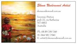 My Card Shona Underwood Artist