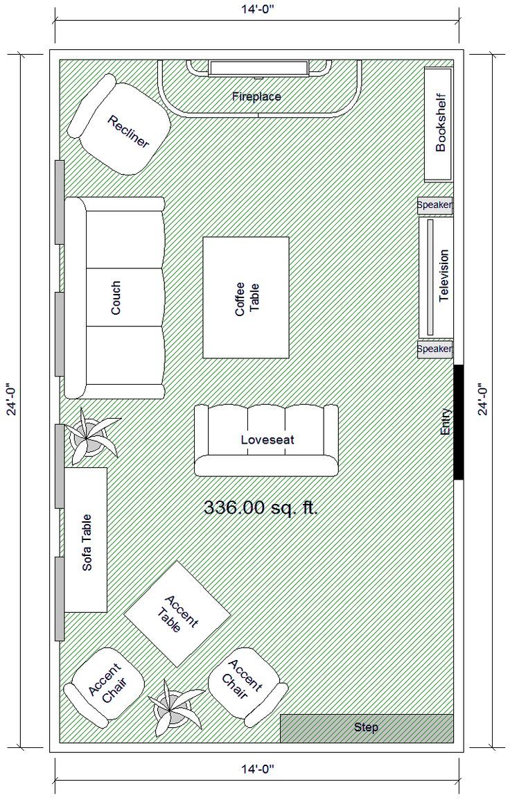 furniture arrangement for rectangle living room. how to arrange a space. elements work in the apartment, but not all, since center walls are open for bath/kitchen/bed. furniture arrangement rectangle living room m