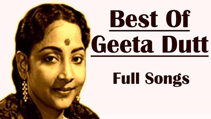 Best Of Geeta Dutt | The Legendary Playback Singer | Geeta Dutt Songs | ...