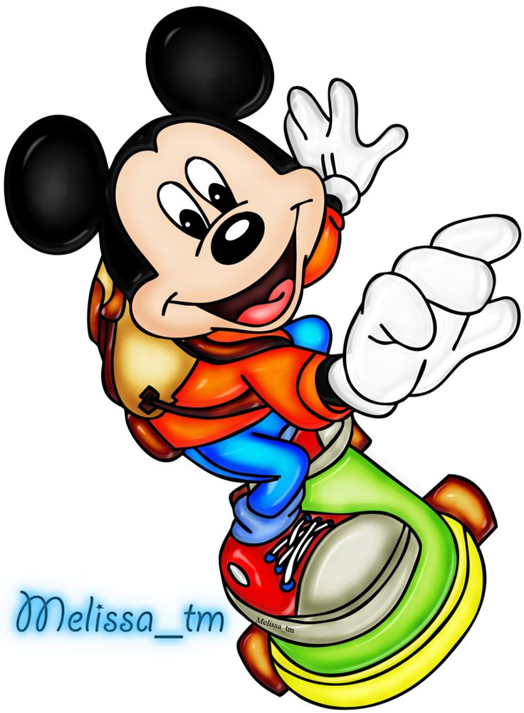 mickey mouse on skateboard png by Melissa-tm on DeviantArt