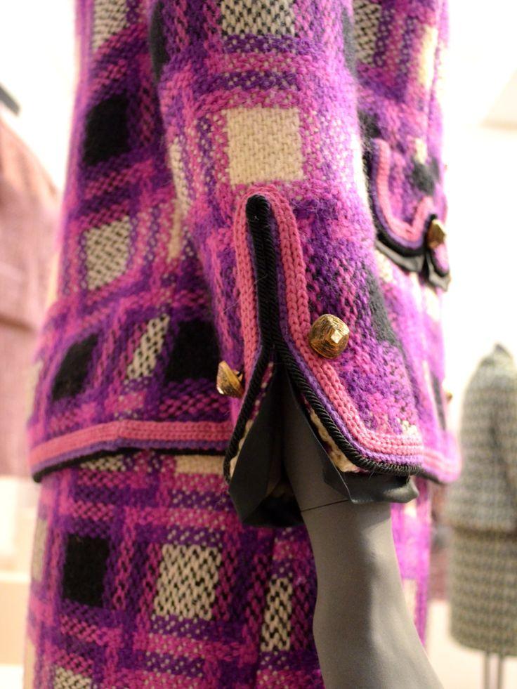 Chanel jacket - sleeve detail #Chanel #ChanelJacket #ChanelTrims
