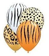 Safari print Lion King balloons