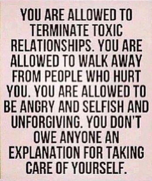It's ok to walk away
