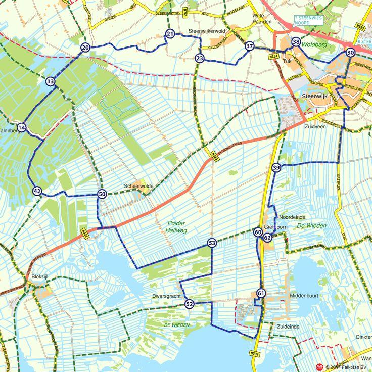 Fietsroute: Schatten uit het veen  (http://www.route.nl/fietsroutes/143454/Schatten-uit-het-veen/)