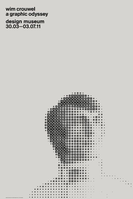 Great example of Gestalt's Closure principle. As all the parts unifies and creates the whole portraiture of the person. Simple and effective hierarchy. Good usage of negative space in the composition.