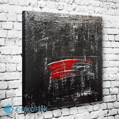Abstract Black Wall Tablo #soyut_kanvas_tablo